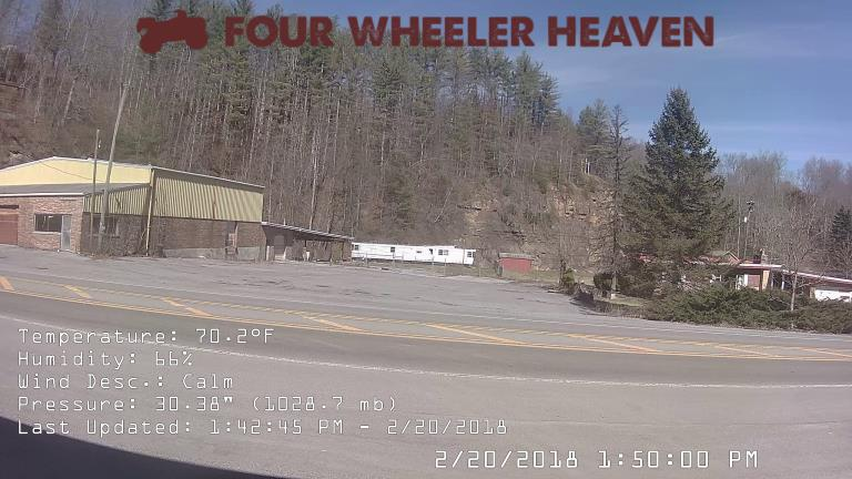 See the trails live from the Four Wheeler Heaven Trail Cam!